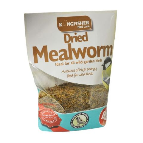 Dried Mealworms For Wild Garden Birds Bag Kingfisher Bird Care 1kg